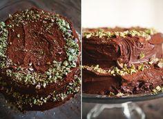 Birthday Cake Recipe: Double Chocolate Sour Cream Cake- Kitchn Blog