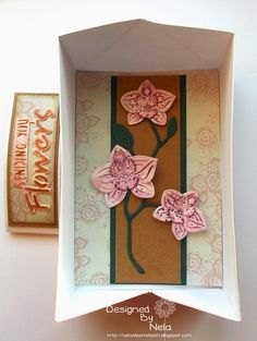 Stempeleinmaleins: Schachtel-Karte - Box-Card