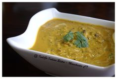 Dal Makhani  ( #GlutenFree ) - Medley of lentils simmered in tomato, cream and ground spices