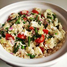 Pittige rijstsalade