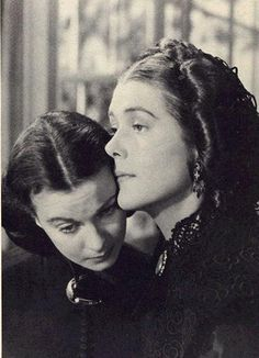 Scarlett and her mother after she is widowed the first time.""
