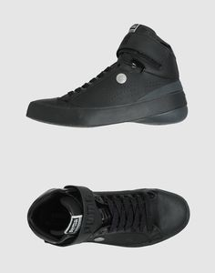 new styles 8b7c8 77610 Men s Black High-top Sneaker. Red ...