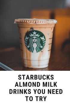 The good news is that Starbucks now offers a myriad of options of beverages that you can have with almond milk. Every fitness enthusiast and vegan is aware of the health benefits of this nut milk. Besides the fact that almond milk is plant-based and, it tastes incredibly good which can enhance the overall taste of your drinks too. It adds a nutty undertone as well as creamy texture to your Starbucks drinks. #coffee #almondmilk Coffee Cream, Coffee Type, Black Coffee, Coffee Canister, Coffee Spoon, Types Of Coffee Beans, Acquired Taste, Coffee Accessories, Starbucks Drinks