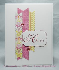 Simple yet fun any occasion card!