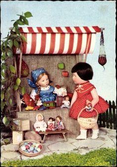 Käthe Kruse Postcard