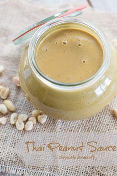 Thai Peanut Sauce | chocolateandcarrots.com
