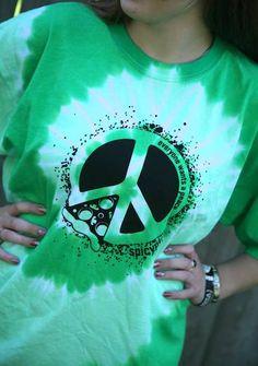 Green Tie-Dye - $15