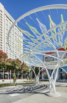 Idea Tree, San Jose, California. Lifethings have recently completed an interactive public artwork called Idea Tree.