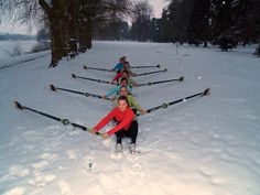 A slightly different take on winter training