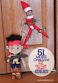 51 MORE Creative Elf on the Shelf Ideas #elfontheshelf by laurie