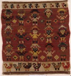 The pre-Colombian textiles