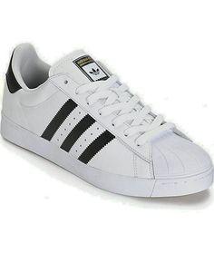 timeless design 5a0d6 98af6 adidas Superstar Vulc zapatos en blanco y negro
