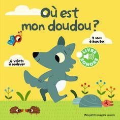 Où est mon doudou? - Mes petits imagiers sonores - Livres pour enfants - Gallimard Jeunesse
