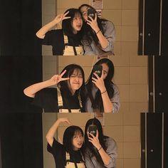 @26thang6 • Ảnh và video trên Instagram Cute Friend Pictures, Best Friend Pictures, Korean Couple, Korean Girl, Korean Best Friends, Girl Friendship, Girl Couple, Uzzlang Girl, Ulzzang Couple