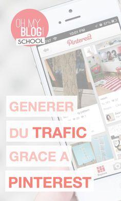 """Ce mois-ci dans Blogschool.fr, retrouvez notre dossier spécial Pinterest ! Au programme : 3 vidéos pour devenir les reines de Pinterest ! Pour voir la vidéo """"Générer du trafic sur son blog grâce à Pinterest"""", rendez-vous sur www.blogschool.fr !:"""