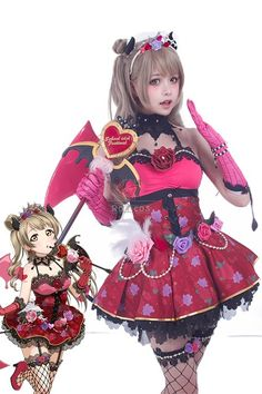 Buy Love Live! Little Devil Costumes Kotori Minami Anime Cosplay Costumes - RoleCosplay.com