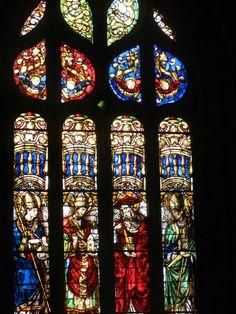 Vidrieras medievales de la Catedral de Sevilla