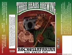 Three Heads Brewing Adds Rochestafarian Wee Heavy