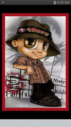 Niner for life lil cutie chulo Sf 49 49ers