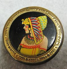 1920s Egyptian Revival Cleopatra Rouge Compact