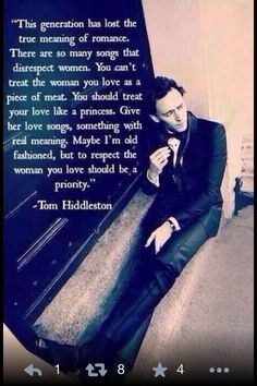 and it goes the other way too for the girl to do those things for the man you love.
