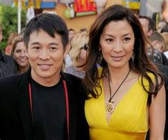 Awesome! Jet Li and Michelle Yeoh.