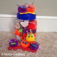 Quiet critters to give to students who are working quietly.