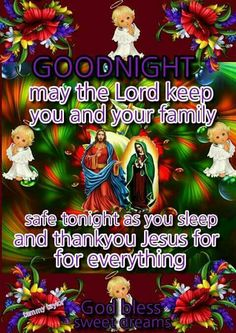 Good Night Prayer, Prayer For The Day, Good Night Quotes, Good Night Family, Night Messages, Happy Friendship Day, Angel Pictures, Sweet Dreams, Blessings