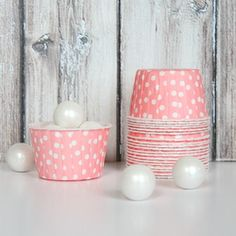So cute!! Candy cups available in tons of colors $4 via @Kim -  The TomKat Studio