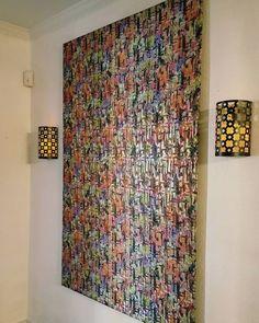 DIY wall panels are
