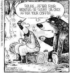 #after hibernation - coffee