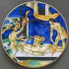 Francesco Xanto Avelli  Urbino maiolica