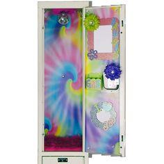 Buy locker decorations and accessories for your locker Girls Locker Ideas, Cute Locker Ideas, Locker Crafts, Diy Locker, Locker Stuff, Tye Dye Wallpaper, Locker Wallpaper, Middle School Lockers, Middle School Supplies