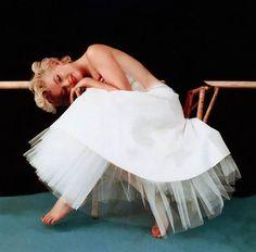 Marilyn Monroe by Milton H. Greene, 1954.