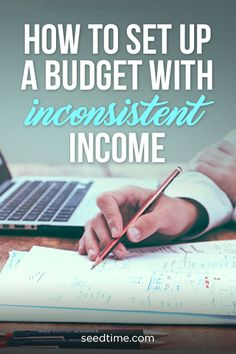 how to set up a budget with inconsistent income