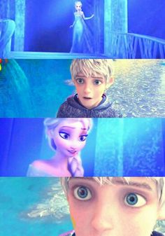 Jelsa. I haven't even watched whatever movie Jack Frost is in, but I ship it.