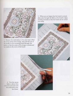ru / Фото - Wilkins - Beginner's Guide to Blackwork - Nice-Nata-san Blackwork Embroidery, When You Are Happy, Cool Stuff, Fabric, Gallery, San, Nice, Design, Pictures