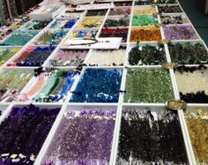 Gemstones for days! Well today until 6pm and tomorrow 11-5pm at the #MetropolitanPavilion #NYC #WHOLEBEADSHOW