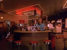 One day my kitchen will look like the RR Diner in Twin Peaks .... :)