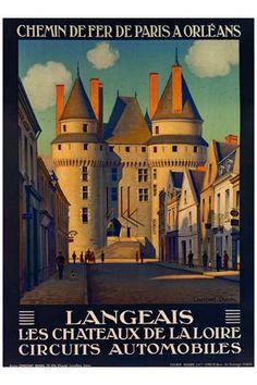 Constant Duval: Langeais les Chateaux de la Loire