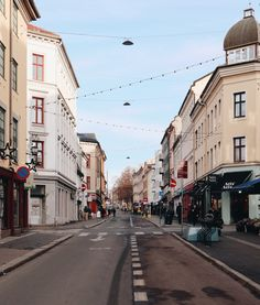 Grünerløkka is Oslo's edgiest, liveliest neighbourhood. With its artistic street art and creative locals, Grünerløkka is a must-see stop in Oslo! Norway City, Red Brick Exteriors, Oslo S, Norway Travel, Dream City, Futuristic Architecture, City Streets, The Neighbourhood, Beautiful Places