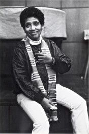 I do respect the work of Audre Lorde.