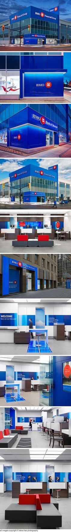 BMO neighbourhood branches photography