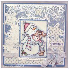 Mariannes papirverden. Lovely card, lovely image....