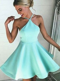 f43128882f Buy Sexy A-line Mint Green Short Homecoming Dress Cocktail Dress 2016  Homecoming Dresses