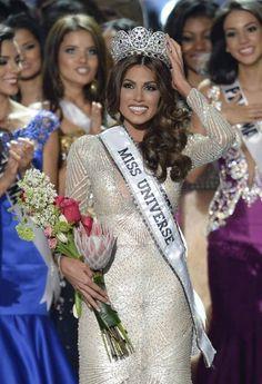 Maria Gabriela Isler of Venezuela Crowned Miss Universe 2013