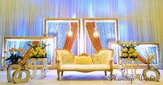Reception Decor and Florals by Mandap World