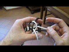 come fare un rosario (how to make a rosary) - YouTube