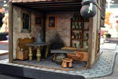 Leaky Cauldron Pub by Cotswolds Finest Cakes