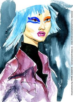 https://flic.kr/p/V9GXDV | img357 | Maison Margiela Fall 2015 ready-to-wear collection.  #fashionillustration #FALL2017 #readytowear #runway #MaisonMargiela #JohnGalliano #illustration #fashion #model #portrait #drawing #female #watercolor #ink #fashionshow #hairstyle #coat #wear #clothes #fashionillustrator #иллюстрация #одежда #платье #портрет #irinakamantseva #мода #artwork #instaart #artinsta #fashioninsta
